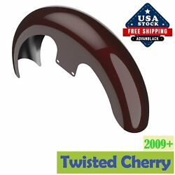 Twisted Cherry 21 Reveal Wrapper Hugger Front Fender 86+ Harley Flh Touring