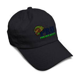 Soft Women Baseball Cap Pray For Military Army Embroidery Dad Hats For Men