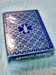 Absolute Vodka Deck Playing Cards Brand New Sealed