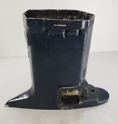 353649 Evinrude 20 Etec 2006 And Up Exhaust Housing 150 175 200 225 250 300 Hp