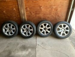 4 - Used Wheels And Tires Mercedes Benz Clk320 7-spoke Wheels With Tires