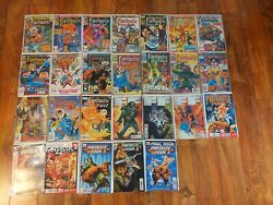 Huge Lot Of 26 Fantastic Four 223+ And Ff Final Issues