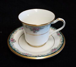 Noritake 4717 Mi Amor Cups And Saucers Set Of Four