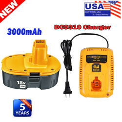 For Dewalt 18v Xrp Battery Or Charger Dc9096-2 Dc9098 Dc9099 Dw9095 Dw9096 Drill