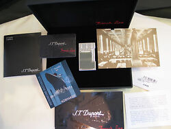 S.t. Dupont Paris Limited Edition 2007 French Line Lighter L2 Bnib New