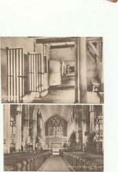 2 x BOSTON Postcards CHURCH amp; THE CELLS Lincoln V55