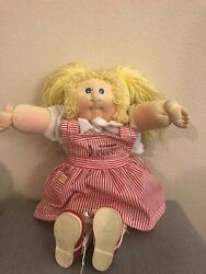 Vintage Cabbage Patch Doll, Xavier Roberts Signed With Birth Certificate