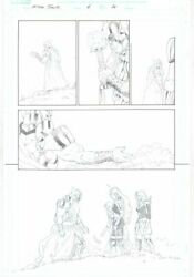 King Thor 4 726 P.36 - Old King Thor And His Granddaughters Art By Esad Ribic