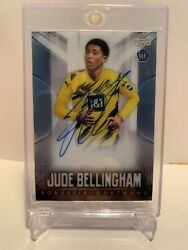 Topps Chrome Bvb Collection 2020/21 Autograph Jude Bellingham 17/44 Rookie Rc
