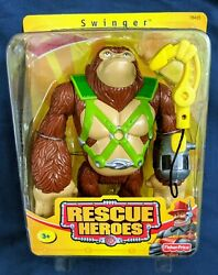 Fisher Price Rescue Heroes Swinger The Gorilla New In Unopened Package