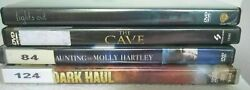 4 Horror Dvds - Lights Out The Cave Dark Haul Haunting Of Molly Hartley