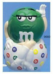 Cookie Jar Hot Green Mandm I Melt For No One Mint In Box Retired My Last One
