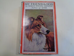 My Friend The Dog By Albert Payson Terhune Hbdj 1926 Lad Wartime Edition