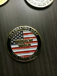 Us Air Force Delta Iv Wgs-9 70th Anniversary Challenge Coin