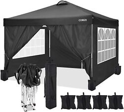 10and039x10and039 Heavy Duty Canopy Waterproof Oxford Outdoor Tent Gazebo W/ 4side Walls