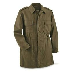 Genuine Czech Military Issue M85 Parka Cotton Blend Jacket Olive Drab Green