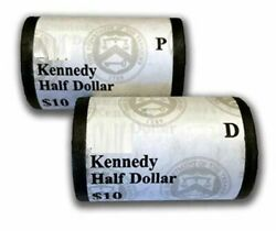 2006 Kennedy Half Dollar P And D Mint Set 10 Coin Rolls Ogp Sealed 5a8 Box Bl233