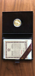 1981 Canada National Anthem 100 22k Gold Coin