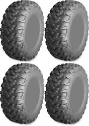 Four 4 Ams Radialpro At Atv Tires Set 2 Front 28x10-14 And 2 Rear 28x10-14