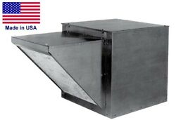 15 Supply Fan - Includes Hood And Filter - 4000 Cfm - 115 Volts - 1 Phase