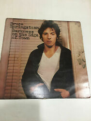Bruce Springsteen Darkness On Edge Holy Grail Cbs Mega Rare' Lp India Indian G+