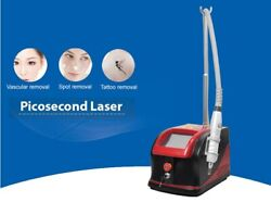 1064nm 532nm 755nm Pico Laser Machine For Tattoo Removal Eyebrow Pigment Removal