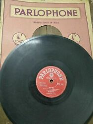 The Beatles Orig India Rare 78 Rpm If I Fell/and I Love Her Parlophone 10 G+