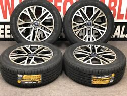 Set Of Ford Escape 2020 Rims 10258 And Land Golden A/s Tires 225/60r18 104v