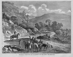 Civil War 1864 History Rebels Destroying Chesapeake And Ohio Canal With Shovel