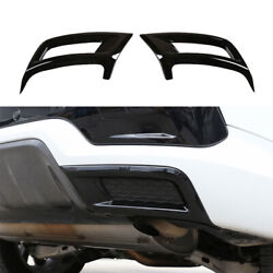 Rear Tail Exhaust Muffler Pipe Frame For Discovery Sport 2020-2021 Gloss Black
