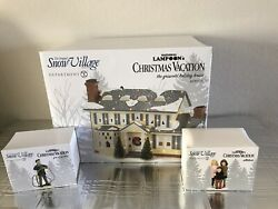 Nib Dept 56 Christmas Vacation Griswold Holiday House, Fire It Up Dad And Alleluia