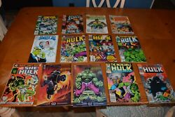 Comic Books Bakers Dozen 13 Rare Key Issues Lot 011121 Incredible Hulk And Friends