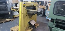 """Challenge 30.5""""cutter, 76cm, Yellow Push Button, Hydraulic, 2 Side Tables,"""