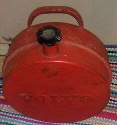 Antique Jerry Volvo Gas Can With Original Lid
