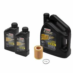 🔥7 Quarts 5w40 Castrol Edge Full Synthetic Engine Motor Oil And Filter Mann🔥
