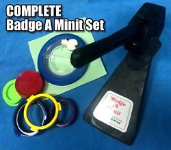 Badge A Minit Minute Complete Bench Press Set W/cutter And More Buy It Now