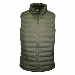 Columbia Menand039s Olive White Out Omni-heat Puffer Vest 316