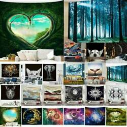 Landscape Large Tapestry Wall Hanging Bedspread Throw Blanket Home Room Decor