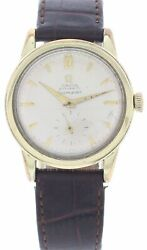 Menand039s Omega Seamaster Sub-second Gold Plated 2576-7 Watch