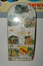 Vintage 1970s The New Zoo Review Game Toy Pinball Machine 22 Rare Wolverine 154