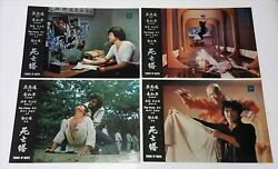 Bruce Lee Tower Of Death Tong Lung Rare Original 1982 Set Of 12 Lobby Cards