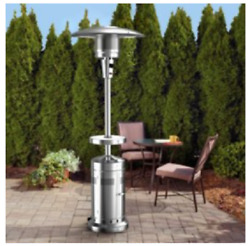 Members Mark Patio Heater With Led Table Distressed Box