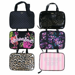 Victoria#x27;s Secret Hanging Cosmetic Bag Zipper Case Makeup Travel Zip New Nwt Vs $29.96
