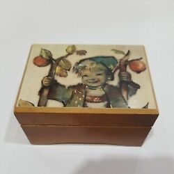 Vintage Reuge Wooden Music Box Made In Italy Swiss Musical Movements Working