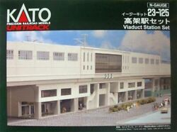 Kato 23-125 Suburban Station For Double Track Plate N Scale