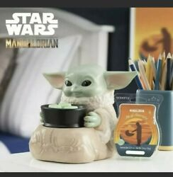The Mandalorian Baby Yoda Warmer the Child Scentsy In Hand