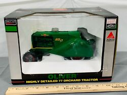 Oliver 77 Orchard Tractor 116 Spec-cast High Detail Nib Red Rims Sharp