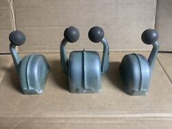 Vintage Chris Craft Boat Twin Throttle And Shifter Levers Bronze