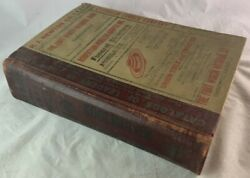 1931 Morrison And Fourmy City Directory Fort Worth Texas / Antique Reference Book