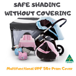 Bub2tot 8in1 - Multifunctional Upf 50+ Sun Shade Uv Cover For Prams And Strollers